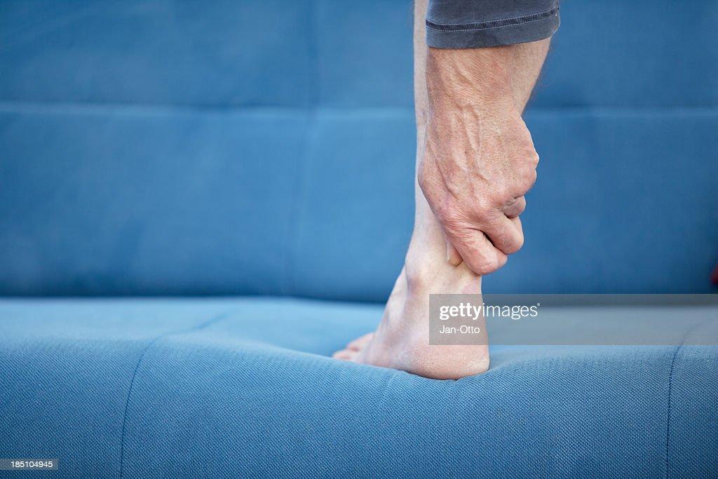 Pain in Achilles-tendon