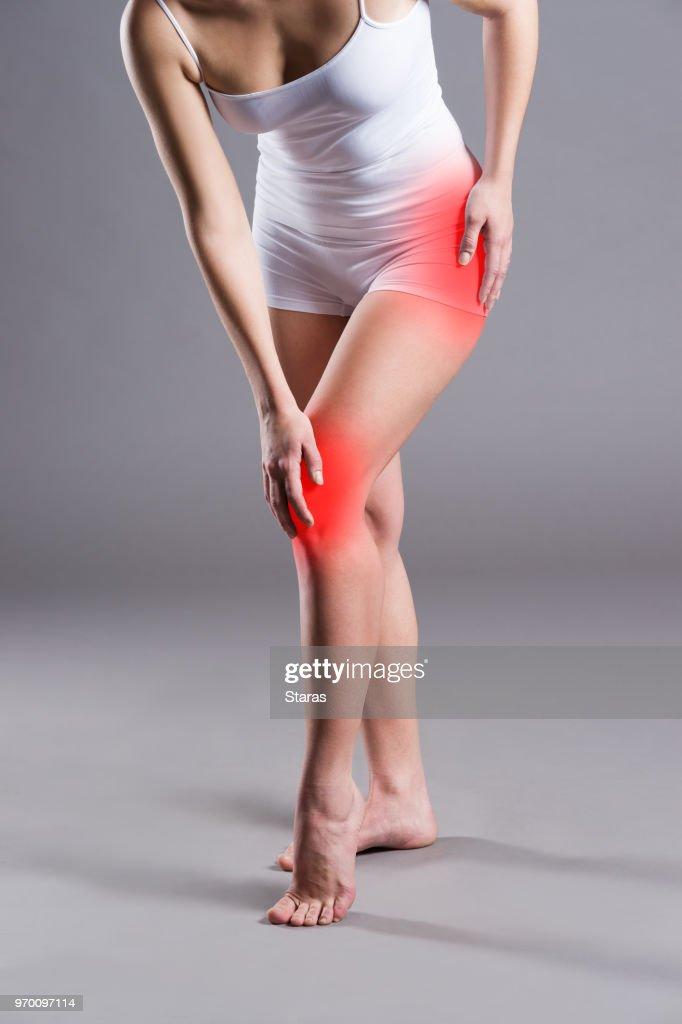 Arthritis im Knie