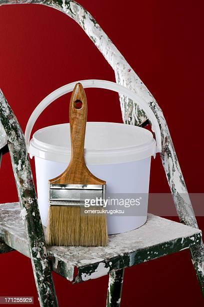 Paint Brush und Box