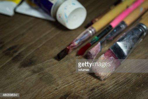 Paint brush : Stock Photo