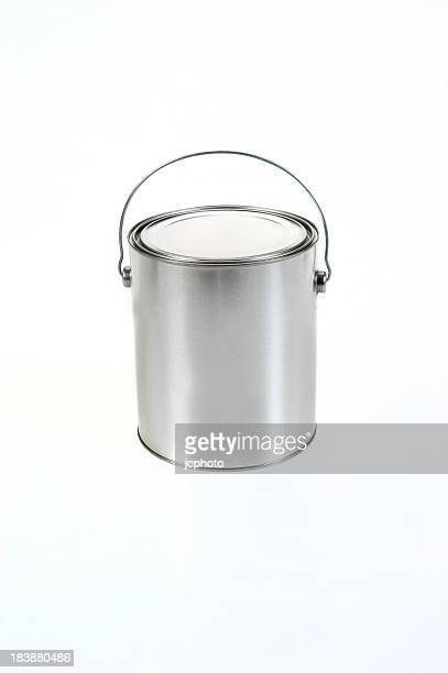 Paint Can on white