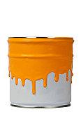 Paint can-Orange