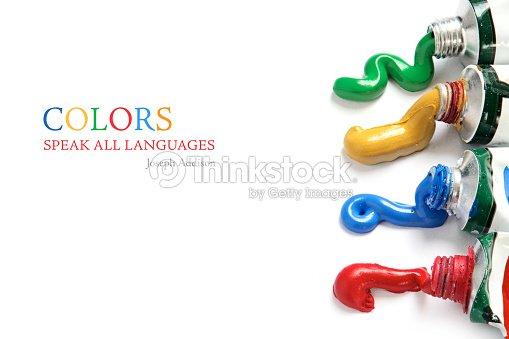 페인트 색상 흐름 이 튜브를 인명별 스톡 사진  Thinkstock