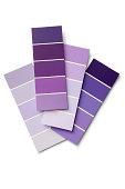 Paint: Colour Samples Purple