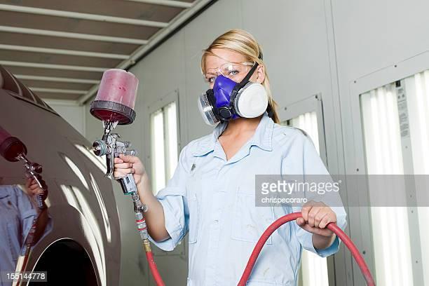 Paint Job at Auto Body Shop