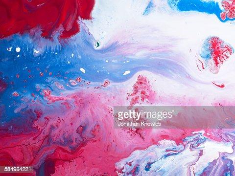 Paint patterns