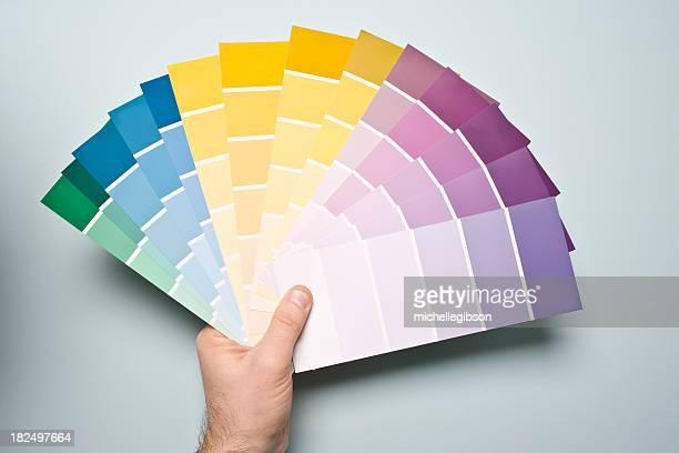 Échantillons de peinture