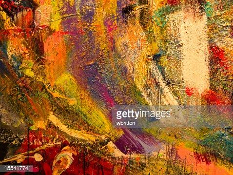 Paint splatter background