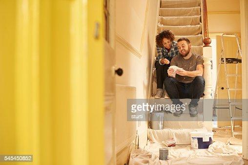 paint swatch couple