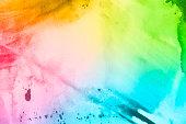 Grunge painted texture art background