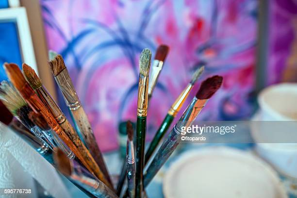 Paintbrush, paintor paintbrushes