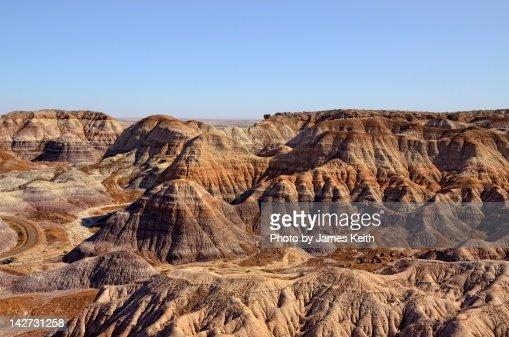 Painted Desert in Arizona : Stock Photo