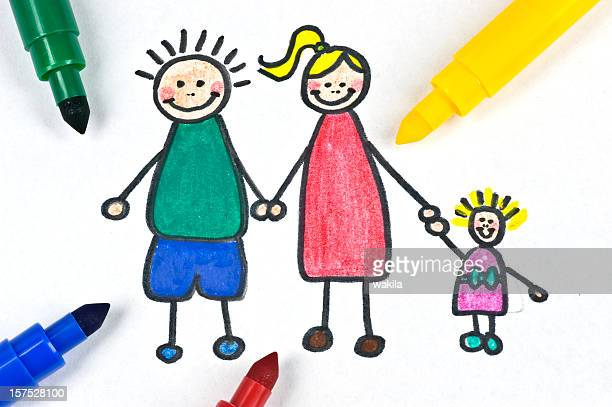 painted family illustration