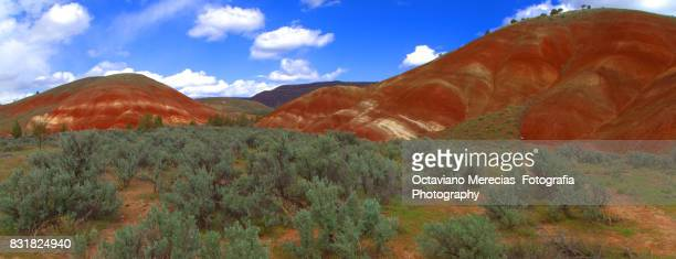 Painted Hills, Mitchell Oregon