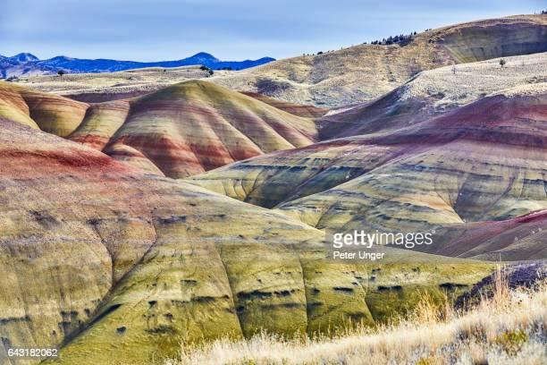 Painted Hills,Wheeler County,Oregon,USA