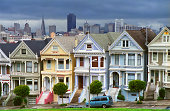 Painted Ladies at Alamo Square, San Francisco