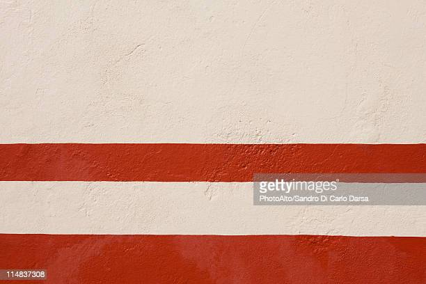 Painted stucco wall, close-up