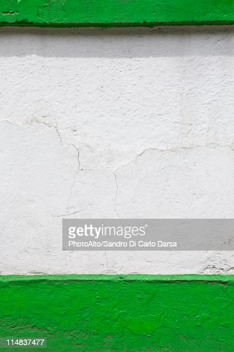 Painted stucco wall, cropped