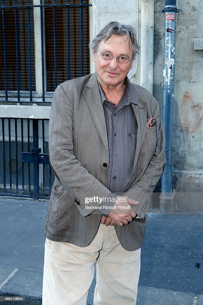 Painter and Sculptor Gerard Garouste attends the Marek Halter's Rosh Hashanah celebration for the 5776 Jewish New Year on September 20, 2015 in Paris, France.