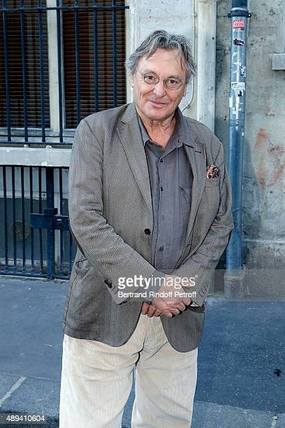 Painter and Sculptor Gerard Garouste attends the Marek Halter's Rosh Hashanah celebration for the 5776 Jewish New Year on September 20 2015 in Paris...