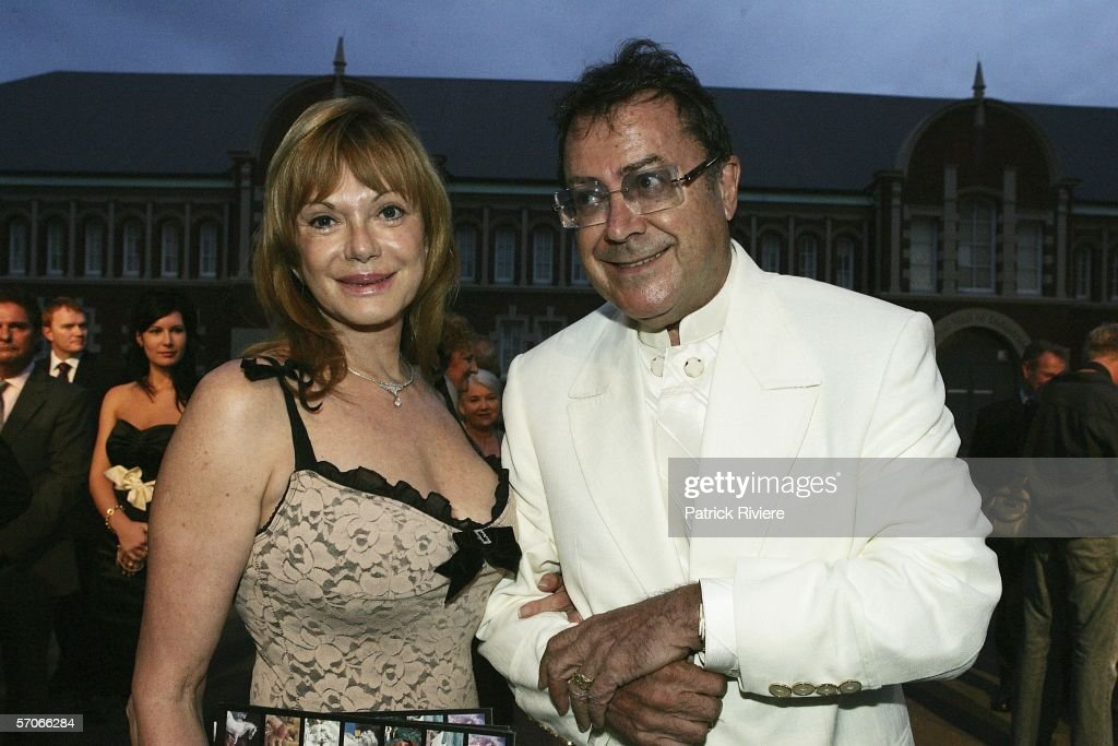 Painter Charles Billich and his wife Christa attend the Best of the Best Gala dinner at the Hordern Pavilion on March 13, 2006 in Sydney, Australia