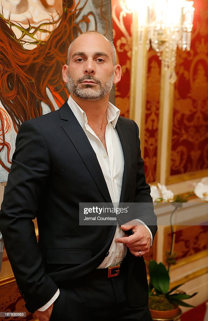 Painter Giovanni Perrone attends the exhibition of artwork featuring Giovanni Perrone and hosted by Ivana Trump and Mark Antonio Rota on April 30, 2013 in New York City.