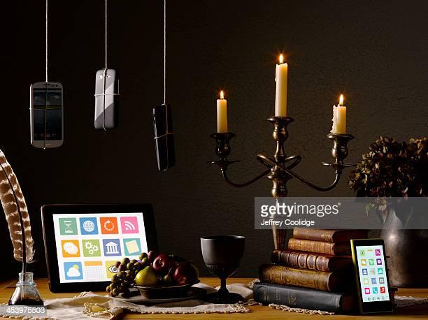 Painterly Still Life  Smart Phone Tablet