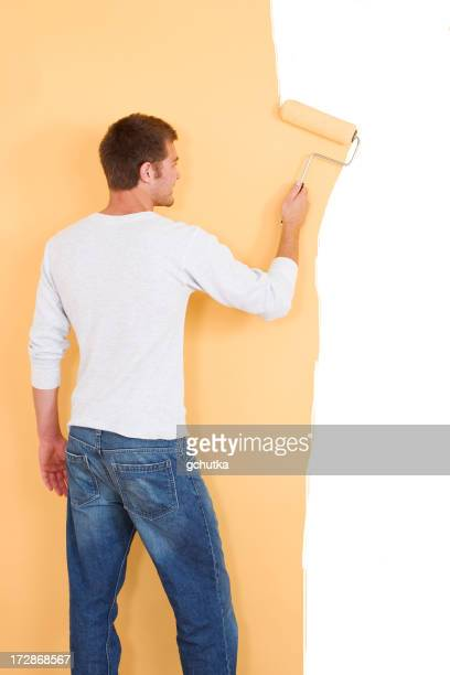 Painting a Yellow Wall