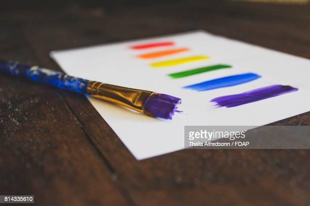 Painting and brush