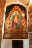 Painting at entrance Saint Catherine's Monastery