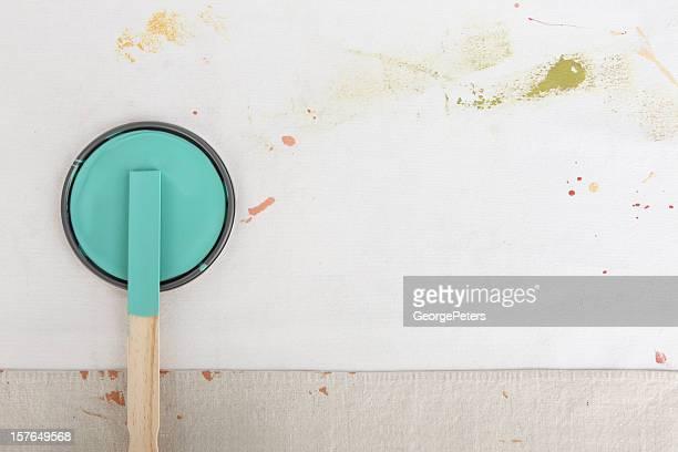 Malerei Hintergrund mit Farbe kann Deckel