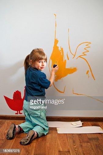 龍壁に絵画