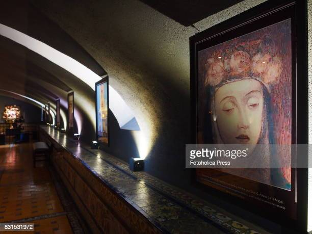 Painting in the crypt of Saint Rose of Lima at Monastery of Santo Domingo