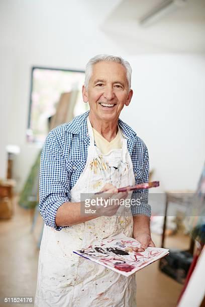 Pintura é O passatempo