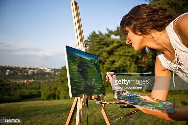 Dipinto paesaggio XXL