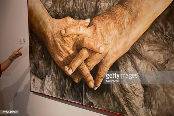 painting of a hand Indonesia National Gallery at Jakarta held an exhibition called quotRuang Baruquot from 23 participanta artist both from Jakarta...