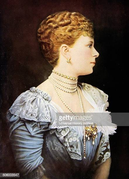 Painting of Mary of Teck Mary of Teck was Queen of the United Kingdom and wife of KingEmperor George V Dated 1890