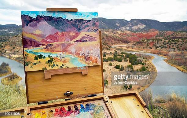Painting of Rio de Chama NM