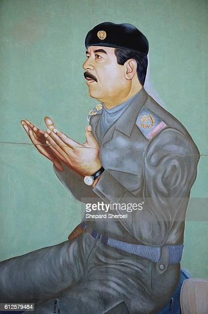 Painting of Saddam Hussein