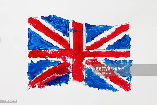Painting of United Kingdom Flag