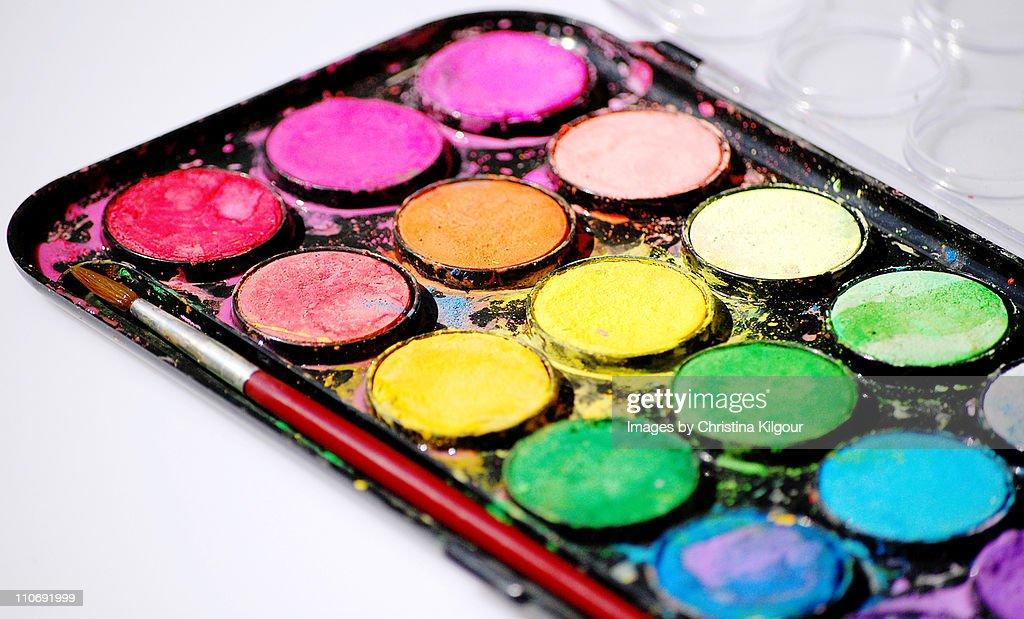 Painting set : Stock Photo