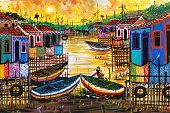 Painting sold in Pelourinho Salvador
