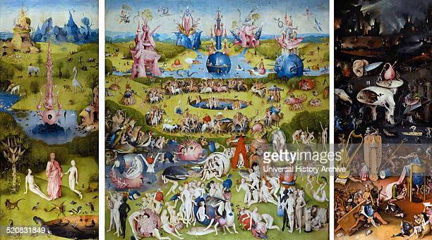 Hieronymus bosch foto e immagini stock getty images for The garden of earthly delights