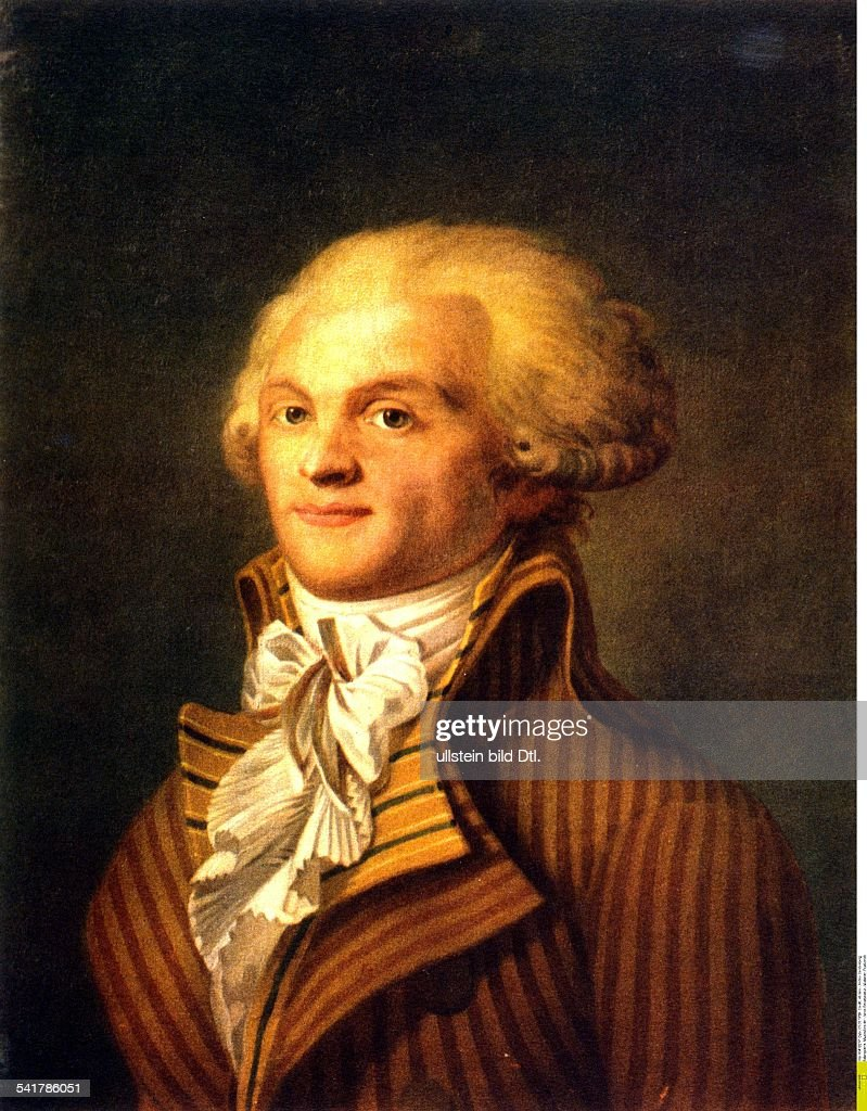 maximilien robespierre Historymakers we may despise them or admire them, but these fascinating pivotal people are part of the story in history maximilian robespierre.