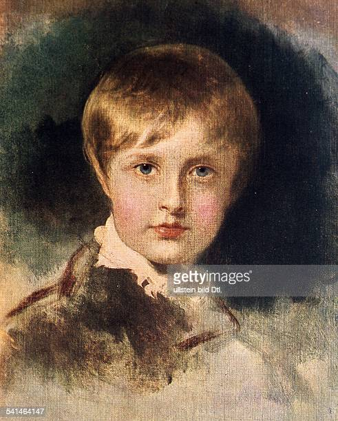 Paintings Napoleon II *2003181122071832 Son of Napoleon I and MarieLousie of Austria King of Rome Portrait by Lawrence between 181020