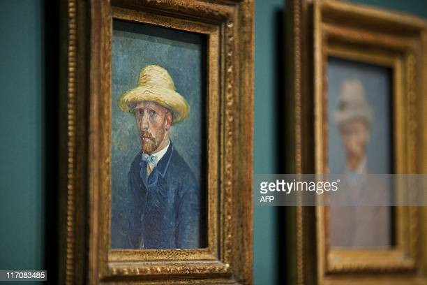 Paintings of dutch painter Vincent van Gogh are hung in the Van Gogh Museum in Amsterdam The Netherlands June 21th 2011 The museum discovered a...