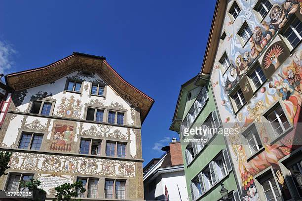 Paintings on Houses in Luzern