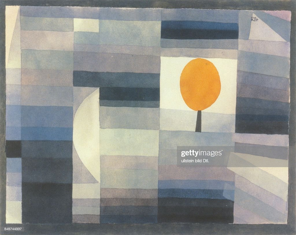 Paintings <a gi-track='captionPersonalityLinkClicked' href=/galleries/search?phrase=Paul+Klee&family=editorial&specificpeople=917074 ng-click='$event.stopPropagation()'>Paul Klee</a> *18.12.1879-+ Painter, graphic artist, Germany, Switzerland Watercolor 'The Messenger of Autumn' - about 1922