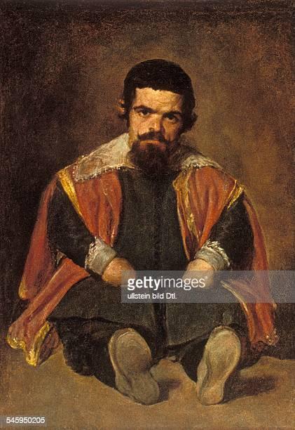 Paintings Velazquez Diego *0606159906081660 Artist painter Spain painting 'Don Sebastian de Morra' 1645