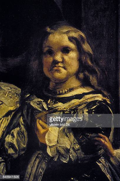 Paintings Velazquez Diego *0606159906081660 Artist painter Spain The female dwarf Maribarbola 1656